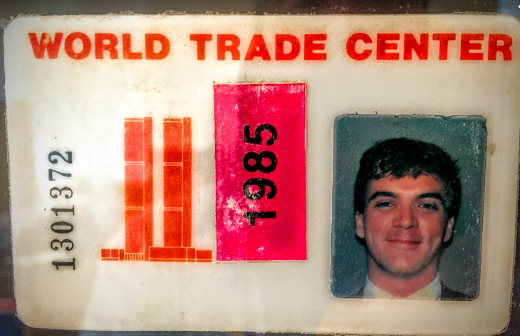 World Trade Center badge