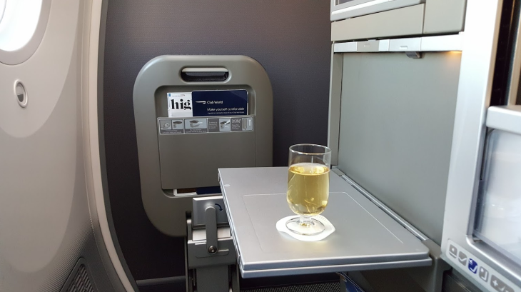 British Airways Champagne