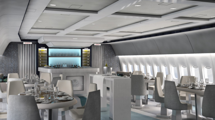 Crystal Cruises plans to have a B777 like this to whisk its top customers to the ship (Photo: Crystal Cruises)