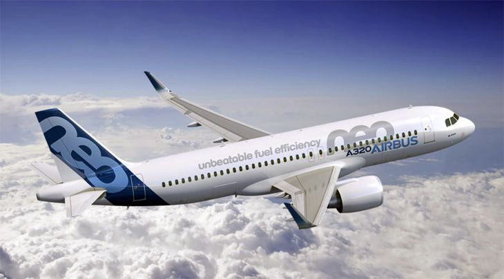 The Airbus A320neo. (Image: Airbus)