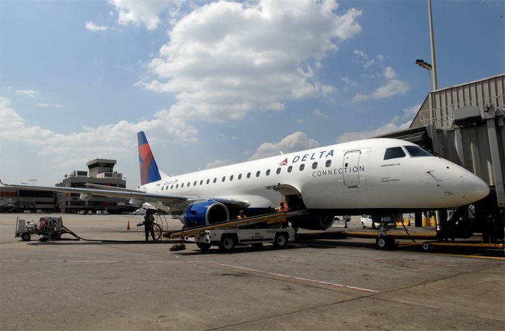 Delta Connection/SkyWest is putting upgraded E175s into West Coast service. (Image: delta)