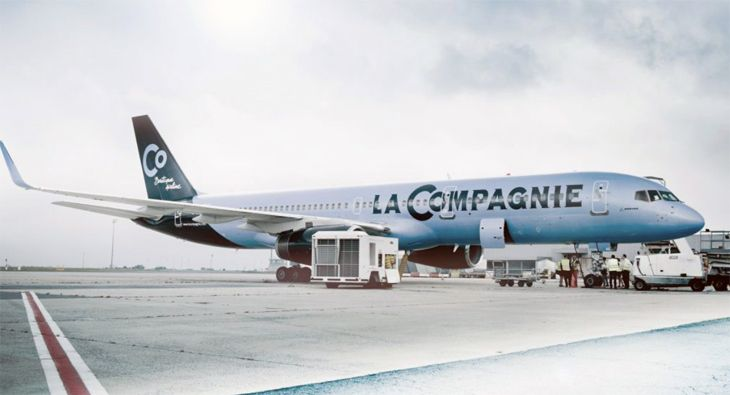 All-business-class La Compagnie blames Brexit for dropping Newark-London flights. (Image: La Compagnie)