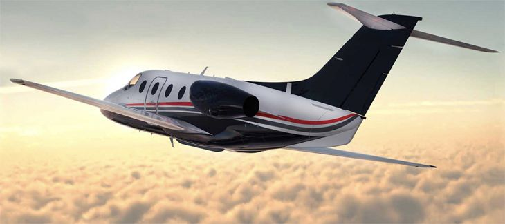 OneJet uses small Hawker 400XPs on short-haul routes. (Image: OneJet)