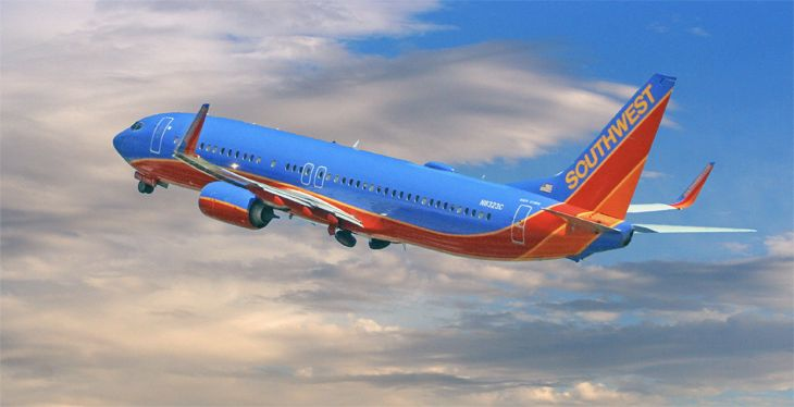 Southwest will add three routes from LAX to Mexico. (Image: Jim Glab)