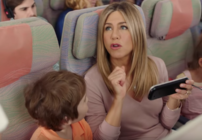 A new Jennifer Aniston ad from Emirates