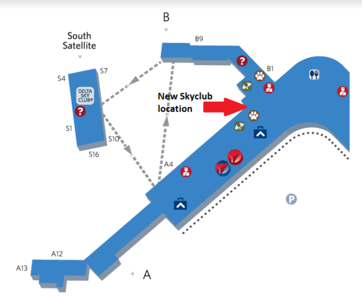 how to get into delta sky lounge