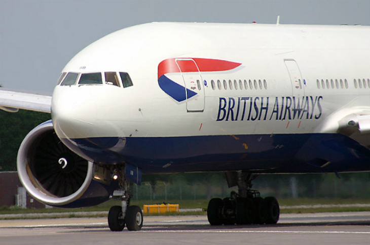 British Airways B777