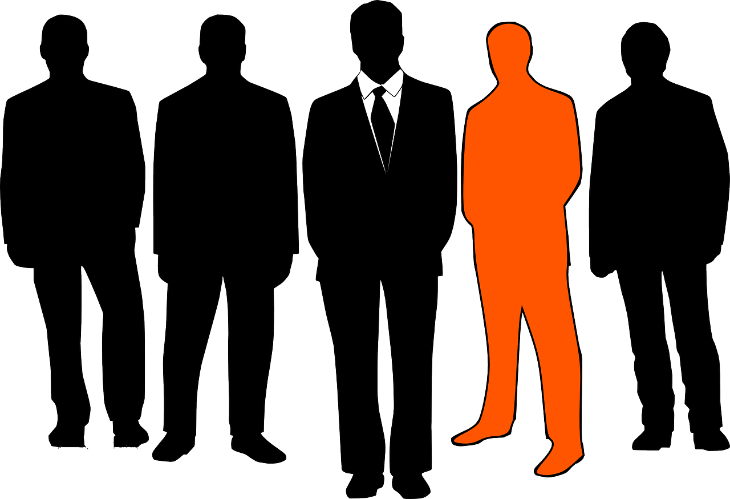 "The traditional ""Japanese businessman"" in a black suit is less prevalent. (Image: Pixabay)"