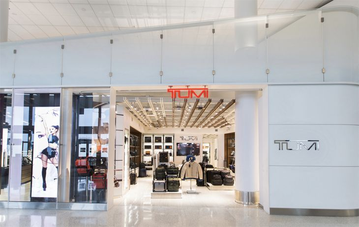 LAX's Terminal 6 has a new Tumi store. (Image: Westfield)