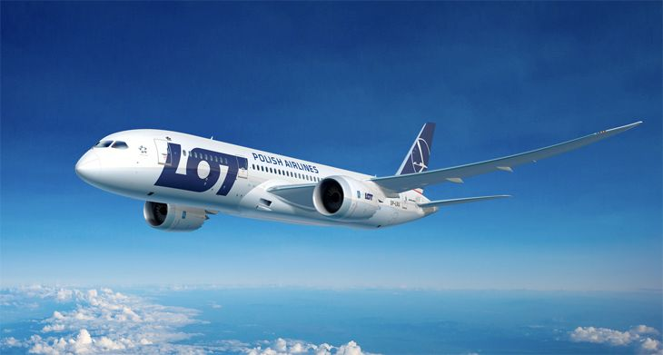 LOT Polish will use a 787 for new Los Angeles service in 2017. (Image: LOT Polish)