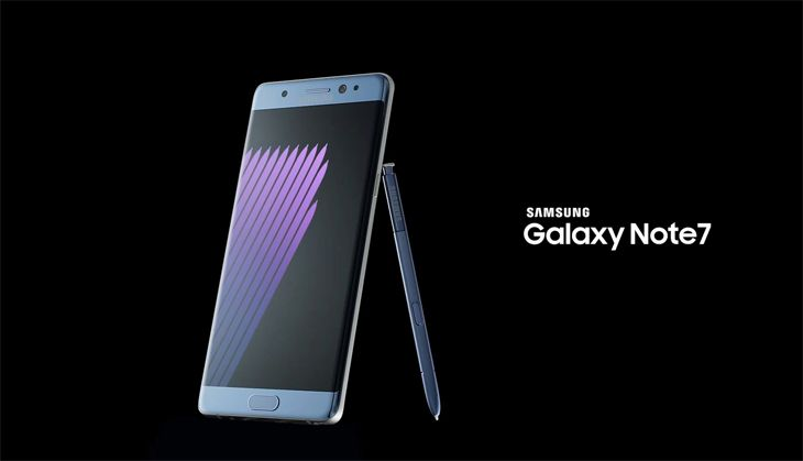 Samsung's Galaxy Note7 is formally banned from U.S. aircraft. (Image: Samsung)