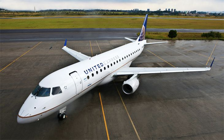 United will fly E175s from San Jose to the Consumer Electronics Show in Las Vegas. (Image: United)