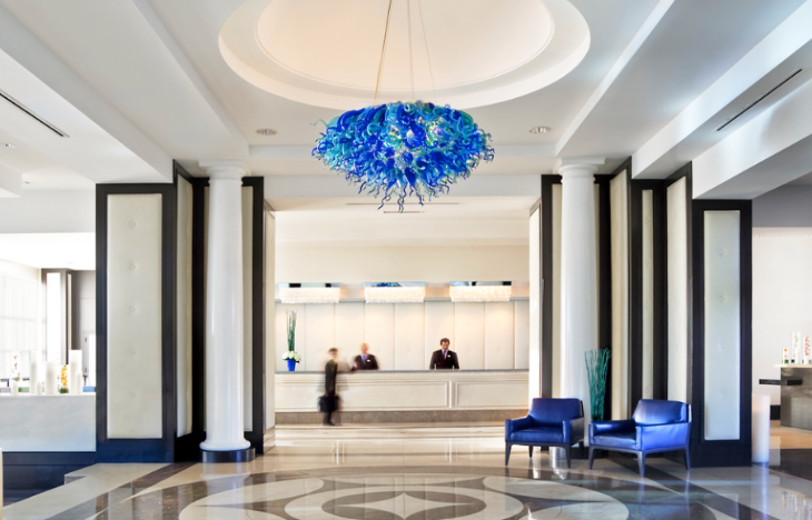 Lobby of the Pullman San Francisco Bay hotel (Image: Accor Hotels)