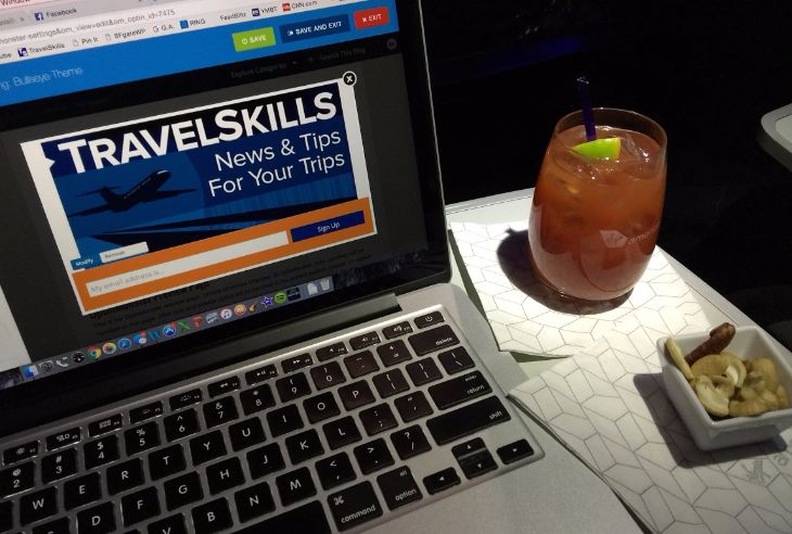 A little work with my bloody mary and mixed nuts (Chris McGinnis)