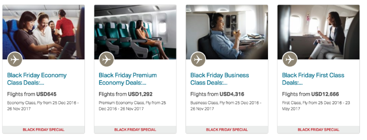 Sale fares are best for economy and premium economy