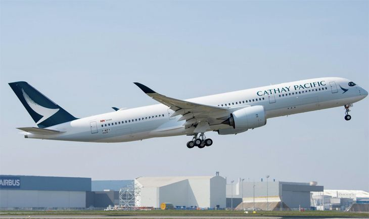 Cathay will put a new Airbus A350 onto its Hong Kong-Vancouver route this spring. (Image: Airbus)