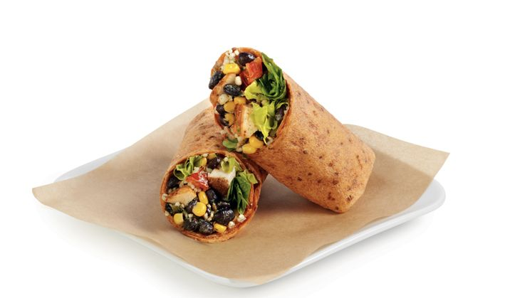 Delta's food got healthier with things like wraps from Luvo. (Image: Delta)