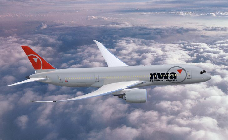 Delta's canceled 787 order was originally placed by Northwest. (Image: Boeing)