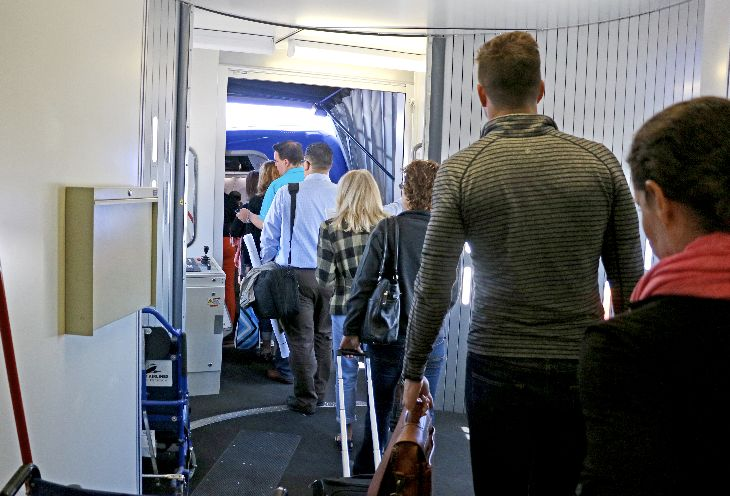 Basic Economy fare buyers will be the last to board. (Image: Jim Glab)