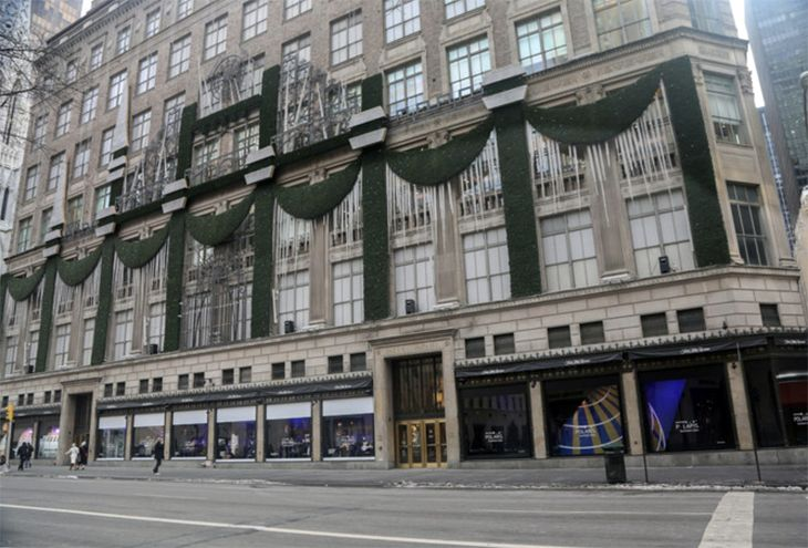 Saks is at Fifth Avenue and 49th Street. (Image: United)