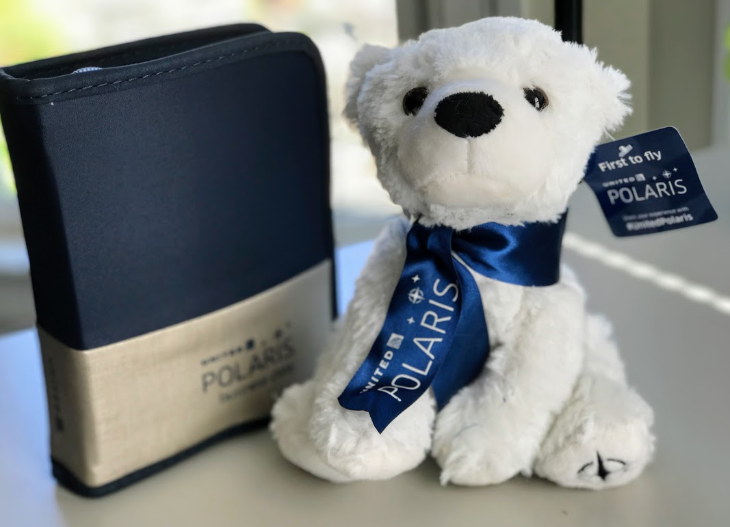 United Polaris Teddy Bear