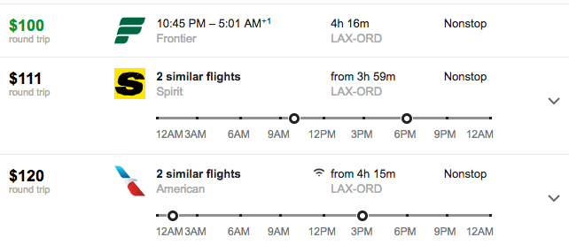 We used March 1-March 8 as sample here (Google Flights)