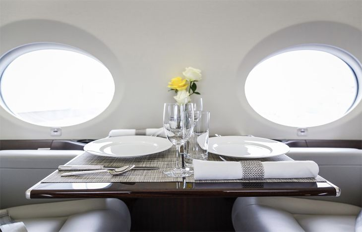 Bliss Jet plans to operate LGA-Lonodon flights with luxurious Gulfstream business jets. (Image: Bliss Jet)