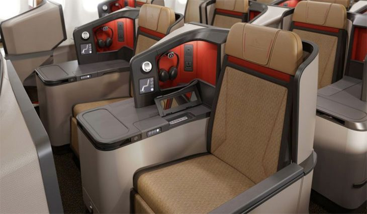 The new business class on South African Airways' A330-300. (Image: SAA)
