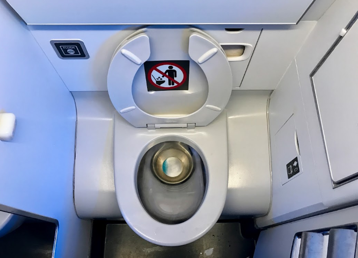 Airplane Lavatory Seats Up Or Down Travelskills