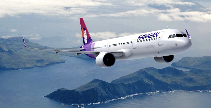 Hawaiian Airlines unveils new A321s for west coast routes ...