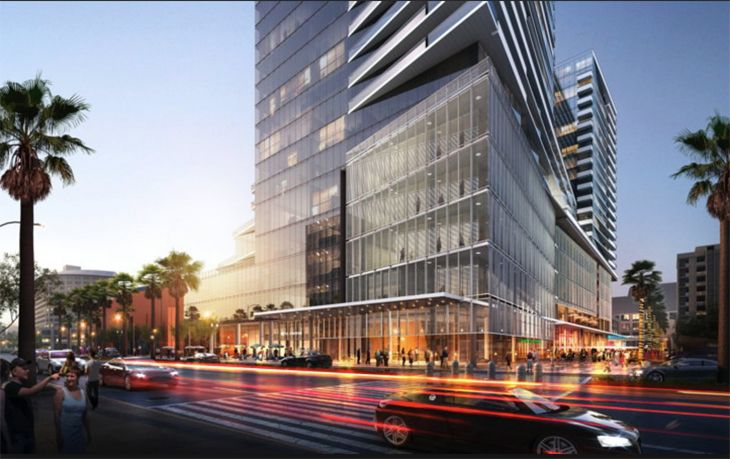 Rendering Of The Planned New Kimpton Hotel At San Jose S Tech Museum Image