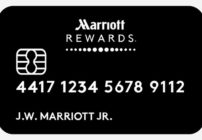 New credit cards coming from Marriott/Starwood