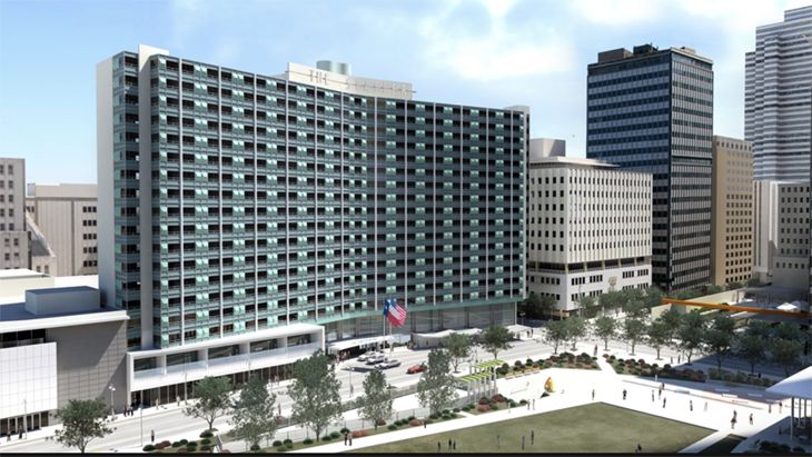 The Statler In Dallas Is Back As Part Of Hilton S Curio Collection Image Hiulton