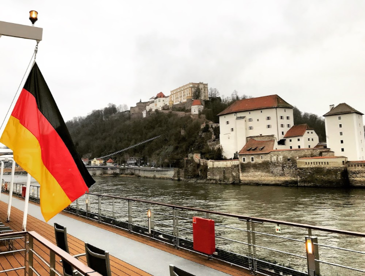 Passau Germany flag