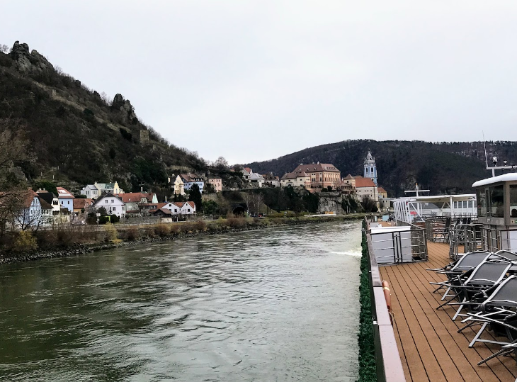 Viking cruise Krems