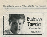 My weekly column in the AJC ran from 1991-2000