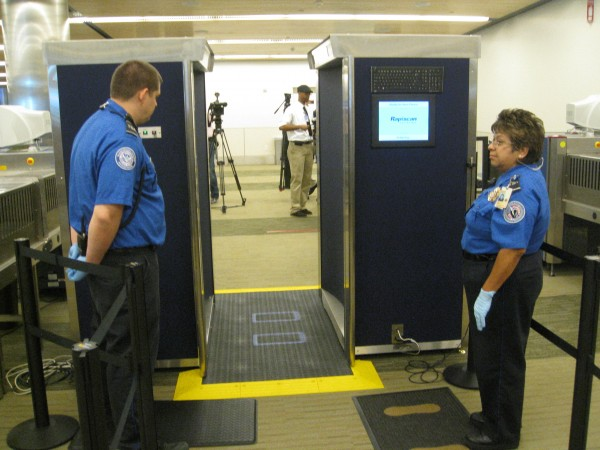 Airport Security Full Body Scanners Up Close And Personal