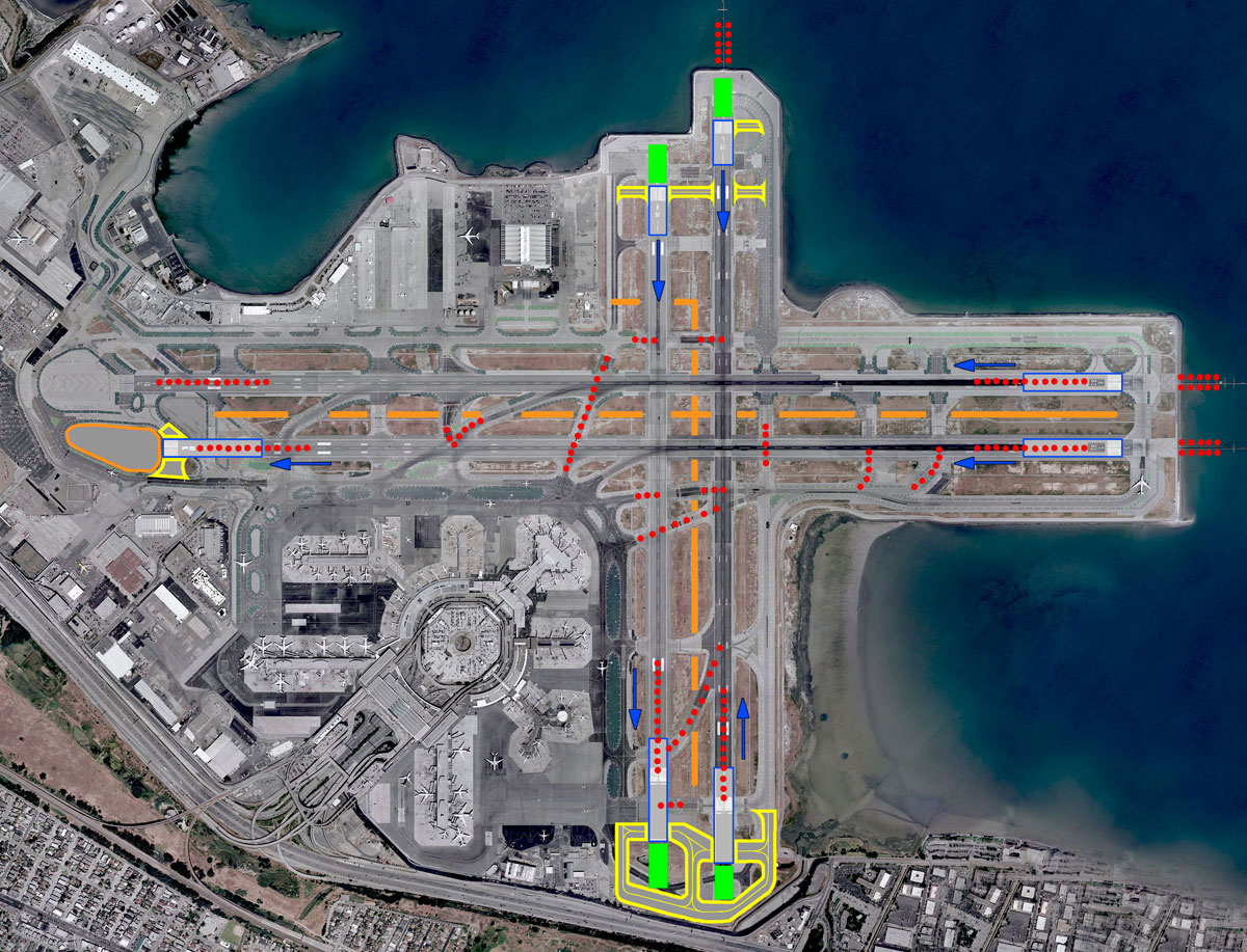Runway Closure To Cause Delays At Sfo Travelskills