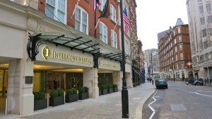 The new InterContinental Westminster near Buckingham Palace. (Photo: Chris McGinnis)