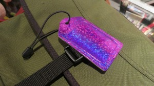 Individualize your bag with a bright luggage tag