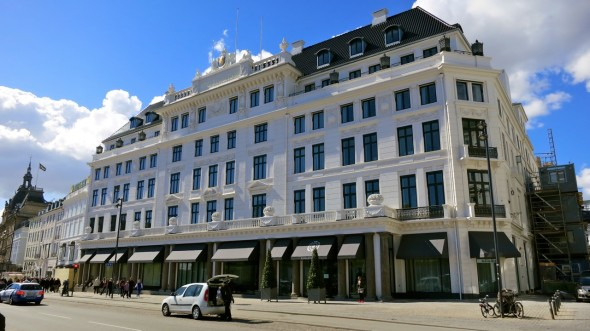 Copenhagen's elegant Hotel D'Angleterre re-opens May 1 after a 2-year re-do (Chris McGinnis)
