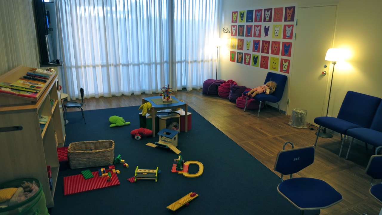 Thoughtful kiddie playroom inside SAS business class lounge (Chris McGinnis)