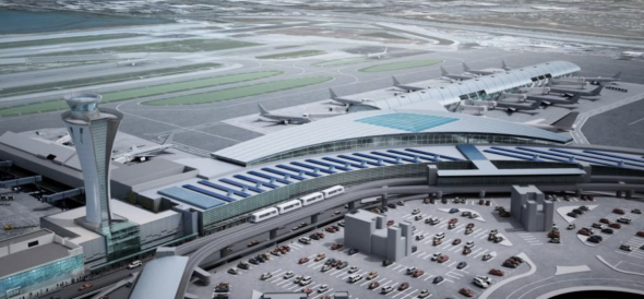Rendering of proposed Terminal 1 at SFO