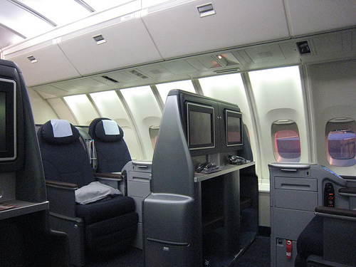 Is United new business class in the bubble on a 747 best in class at SFO? (Photo: United)