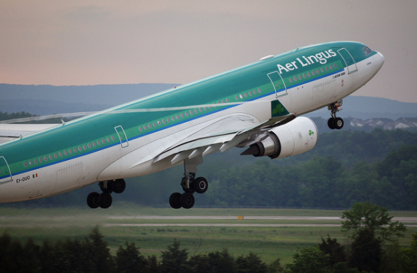 An Aer Lingus A330 at Washington Dulles (Photo:  Stephen White)