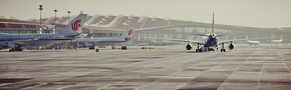 Big, beautiful Beijing Capital Airport is getting hammered by delays. (Tomasz Wagner Mananetwork)