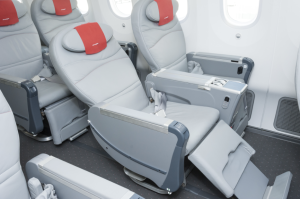 Premium Economy seats on Norwegian