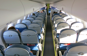 Onboard a recent Delta Embraer 175 flight SFO-LAX (Chris McGinnis)