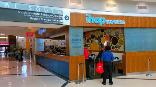 The first ever airport IHOP opened last month at ATL (Chris McGinnis)
