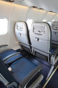 New seatbacks on slimline seat on CRJ700 (United)